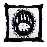 First Nations Tribal Art Throw Pillow