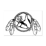 First Nations Poster Tribal Art Mini Poster Print