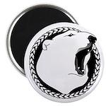 First Nations Tribal Bear Art Fridge Magnet