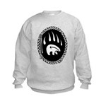 First Nations Tribal Art Kids Sweatshirt