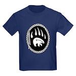 First Nations Tribal Art Kids Dark T-Shirt