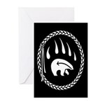 First Nations Art Greeting Cards 20 Pk Tribal Bear