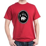 First Nations Tribal Bear Claw Art Dark T-Shirt