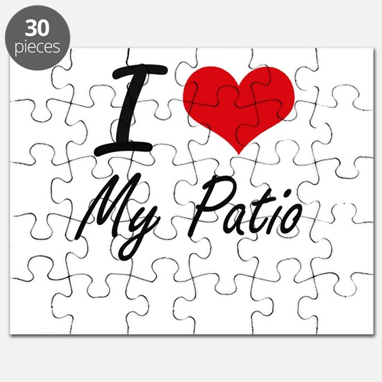 I Love My Patio Puzzle