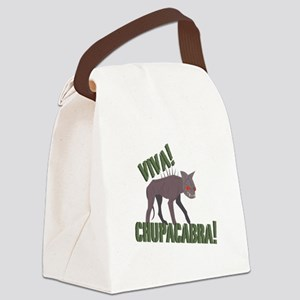 Viva Chupacabra! Canvas Lunch Bag