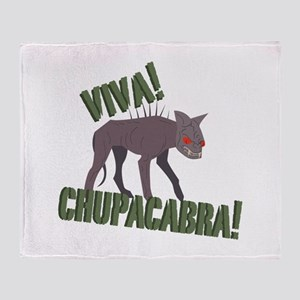 Viva Chupacabra! Throw Blanket