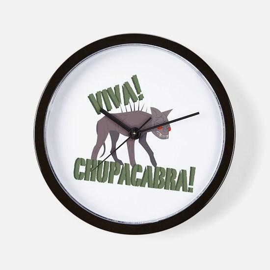 Viva Chupacabra! Wall Clock
