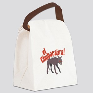 El Chupacabra! Canvas Lunch Bag