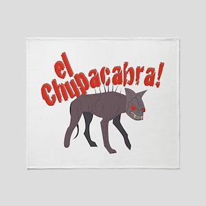 El Chupacabra! Throw Blanket