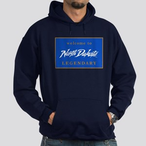Welcome to North Dakota - USA Hoodie (dark)