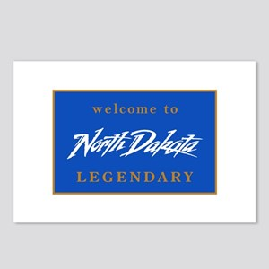 Welcome to North Dakota - Postcards (Package of 8)