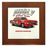 Fugly-Racing Framed Tile