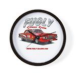 Fugly-Racing Wall Clock