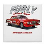 Fugly-Racing Tile Coaster
