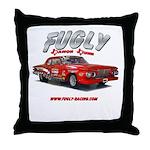 Fugly-Racing Throw Pillow