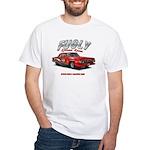 Fugly-Racing White T-Shirt