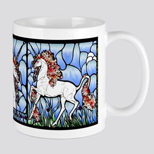 Stained Glass Unicorn Mug