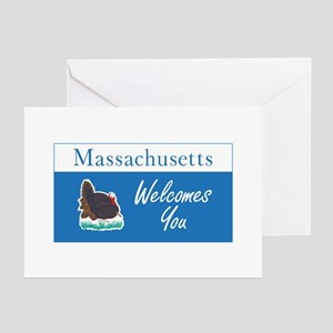 Welcome to Massachusetts Greeting Cards (Pk of 10)