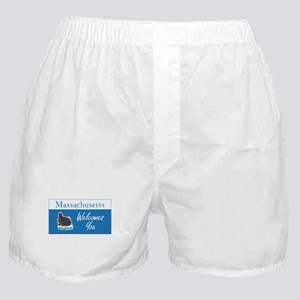 Welcome to Massachusetts - USA Boxer Shorts