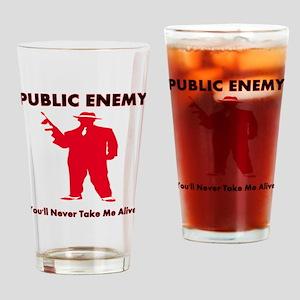 public enemy Drinking Glass