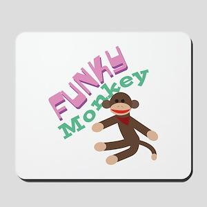 Funky Monkey Mousepad