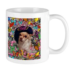 Chi Chi Chihuahua Butterflies Mug