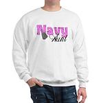 Navy Aunt Sweatshirt