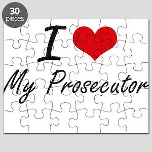 I Love My Prosecutor Puzzle