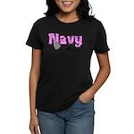 Navy Aunt Women's Dark T-Shirt