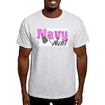 Navy Aunt Light T-Shirt