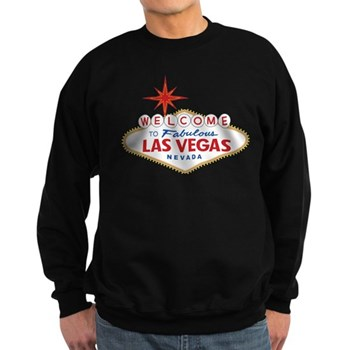 Welcome to Fabulous Las Vegas, N Sweatshirt (dark)