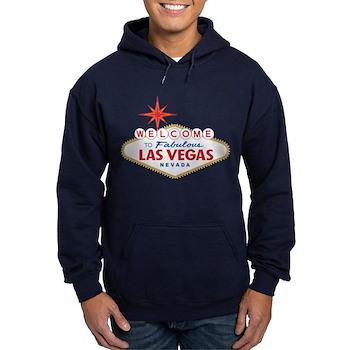 Welcome to Fabulous Las Vegas, NV Hoodie (dark)