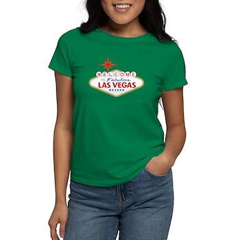Welcome to Fabulous Las Vegas Women's Dark T-Shirt