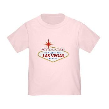 Welcome to Fabulous Las Vegas, NV Toddler T-Shirt