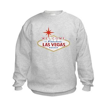 Welcome to Fabulous Las Vegas, NV Kids Sweatshirt