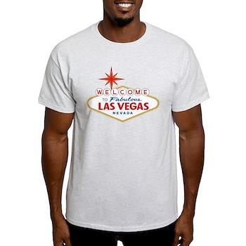 Welcome to Fabulous Las Vegas, NV Light T-Shirt