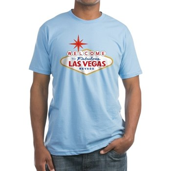 Welcome to Fabulous Las Vegas, NV Fitted T-Shirt