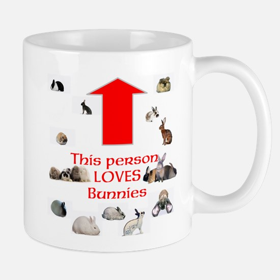 Loves Bunnies Mugs