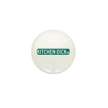 Kitchen-Dick Road, Sequim (WA) Mini Button (100 pa