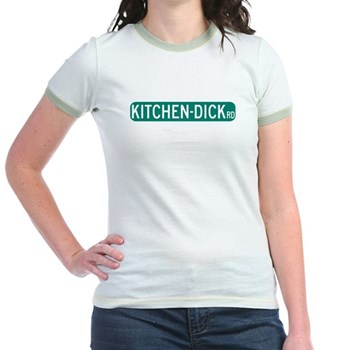 Kitchen-Dick Road, Sequim (WA) Jr. Ringer T-Shirt