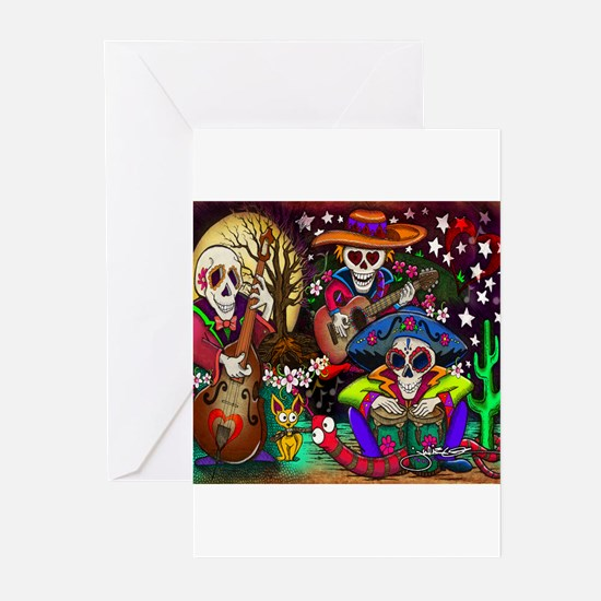 Cute Day of the dead Greeting Cards (Pk of 10)