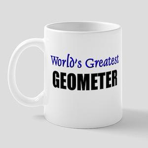 Worlds Greatest GEOMETER Mug