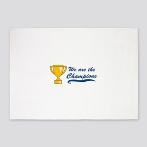 We Are Champions 5'x7'Area Rug