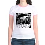 Tiger-headed <br>Zebragryph<br> Jr. Ringer T-Shirt