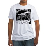 Tiger-headed <br>Zebragryph<br> Fitted T-Shirt