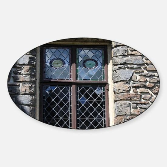 old stone rustic window Decal