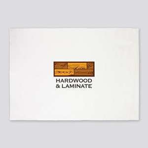 Hardwood & Laminate 5'x7'Area Rug