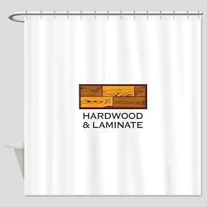 Hardwood & Laminate Shower Curtain