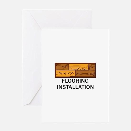 Flooring Installation Greeting Cards