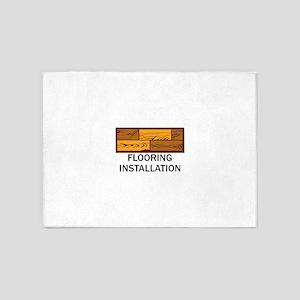 Flooring Installation 5'x7'Area Rug